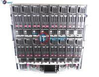 HP c7000 Chassis 8x BL460c G8 Blades 2x E5-2650 V2 2.6GHz 8C 8GB 2x Trays Rails