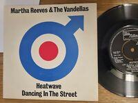 """Martha Reeves & The Vandellas - Heatwave/ Dancing In Streets 1981 Mod Revival 7"""""""