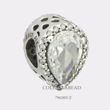 Authentic Pandora Silver Radiant Teardrop Clear CZ Bead 796245CZ SPECIAL!!!