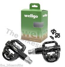 Wellgo W44B Road Sealed 1 Side Clipless SPD & 1 Platform fit Shimano SH51 /SH56