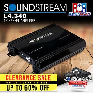 Soundstream L4.340 4-Channel Amplifier