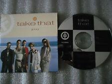 CD-TAKE THAT-PRAY-Alternative club -Gary Barlow-England-(CD SINGLE)-1993-2 TRACK