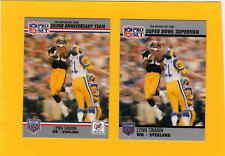 1990 Buick LYNN SWANN Pittsburgh Steelers Super Bowl Card