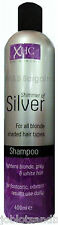 Xpel Hair Care XHC Shimmer of Silver Shampoo 400ml Purple Toning for Blonde Hair