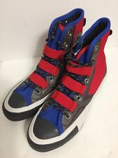 Converse Big Kids Chuck 70 Tech Hiker Hi Red/Blue/Black youth Sz 4 (262285c)