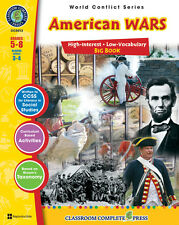 American Wars Big Book, Grades 5-8 Social Studies - DOWNLOAD