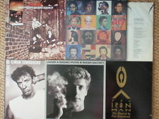THE WHO + PETE TOWNSHEND + ROGER DALTREY - lot of 5 LPs