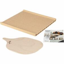 Pietra piastra forno refrattaria con pala in legno per pizza 484000000276 Wpro