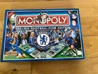 Chelsea FC Edition Monopoly Board Game 2005 release discontinued - 100% Complete