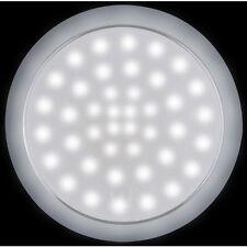 LED Round Interior Exterior White Light Touch On-Off 12/24 Volt 42 LED's IP 66