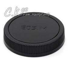 Rear Caps Cover For CANON EOS M Camera and Lens Protect M3 M2 M