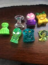 7 Crazy Bones With Painted Faces Rare