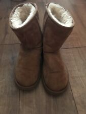 ladies Girls Brown ugg boots size 4.5