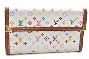 Louis Vuitton Monogram Multicolor Porte Tresor International Wallet LV A7324