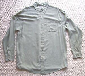 Tri-Mountain Men's Button Down Collar Long Sleeve Shirt XLT Casual