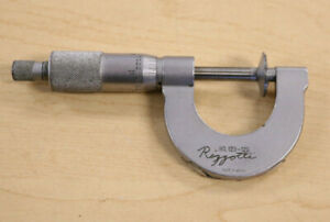 Mitutoyo No.123-125 Disc Flange Micrometer * Pre-owned*  FREE SHIPPING
