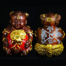 Magic Guman Thong Fu LP Somchai Thai Amulet lucky Wealth Rich Prtotect y 2554 BE