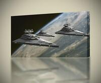STAR WARS Star Destroyer Ship CANVAS PRINT Wall Art Decor Giclee *4 Sizes* CA113