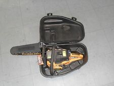 Chainsaw w/ case