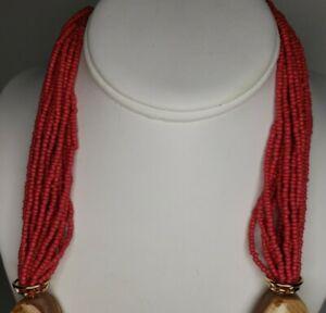 """40"""" Chicos Pink Sea Bead Necklace"""
