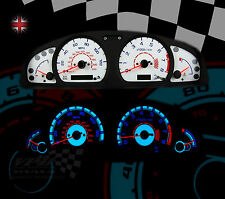 Nissan Almera mk2 N15 Speedo dash white dial lighting upgrade custom dial kit