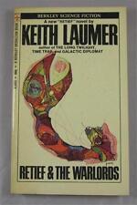 RETIEF & THE WARLORDS KEITH LAUMER 1970 BERKLEY MEDALLION #X1800 1ST ED PB