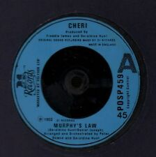 """Cheri(7"""" Vinyl)Murphy's Law/ Anything Is Possible-Polydor-POSP 459-UK-1-VG/Ex"""