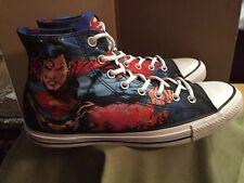 Converse Chuck Taylor ALL STAR Superman DC Comics Men 10 Women's 12 1150444c