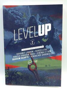 Livre Level Up 2 la collection de tous les RPG livre vidéo game neuf