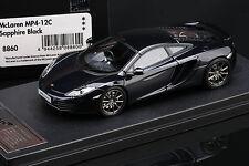McLaren MP4-12C **Sapphire Black**  -- HPI #8860  RESIN 1/43