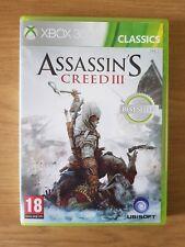 Xbox 360 Assassin's Creed III 3 edición de clásicos