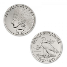 Limited Edition $10 Indian Commemorative HR 2 oz .999 Silver USA Made BU Round