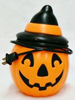 VINTAGE EMPIRE INDUSTRIES PLASTIC HALLOWEEN JACK-O-LANTERN WITH LIGHT