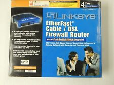 Linksys Befsx41 100 Mbps 4-Port 10/100 EtherFast Cable/Dsl Firewall Router