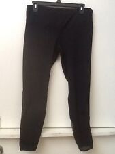 Women's  Forever 21 Black Spandex Fitness Yoga Ankle Tights Size S Small NWT New