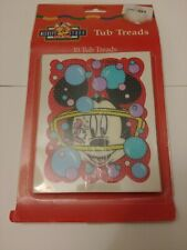 Mickey's Stuff For Kids Bath Tub Treads Disney Non-Slip Safety 10 pcs Rare Htf