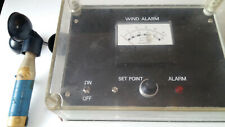Wind speed alarm / Wind controller with anemometer