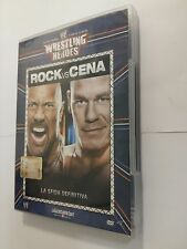 Wrestling Heroes Le più Grandi Star DVD 23 Rock vs Cena. La Sfida Definita