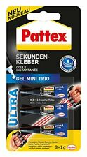 Pattex Sekundenkleber Ultra Gel Mini 3 Tuben A 1g