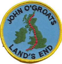 John O'Groats to Land's End Embroidered Patch Badge
