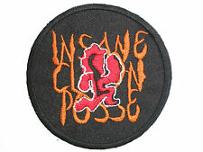 """ICP Insane Clown Posse Embroidered Iron On Patch Badge 3""""/7.6cm"""