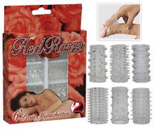 You2Toys 6-teiliges Set Penis Sleeve Penismanschetten Reiz-Struktur elastisch