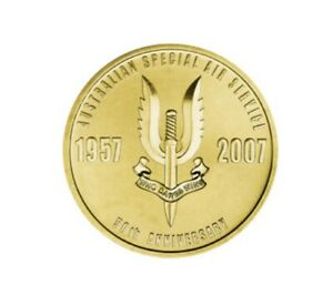 Australian Special Air Service Regiment SASR, 50th Anniversary Coin &Stamp Cover