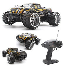 1:16 Scale 2WD High Speed Remote Control Gold Off Road Racing Car Kids Gift Toys