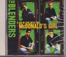 THE BLENDERS - (I Am In Love With The) McDonald's cd, ITEM-18
