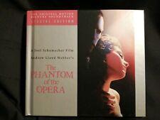 THE PHANTOM OF THE OPERA- 2 CD ORIGINAL FILM SOUNDTRACK- SPECIAL EDITION-BOOKLET