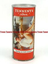 "1960s Scotland Tennent'S Sweet Stout ""Ann"" Boating On Loch Lamond girl can"