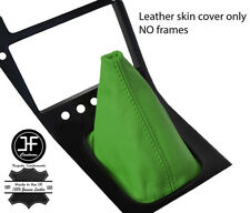 GREEN TOP GRAIN REAL LEATHER GEAR GAITER FITS S13 240SX 200SX 180SX 1988-1993