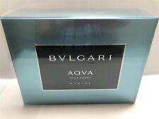 Bvlgari Aqva Marine 3pc Set 3.4 oz Eau de Toilette Spray for Men, As Imaged