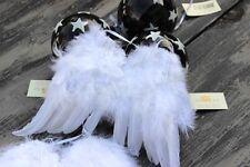 Engelflügel * Weiß  * Federn * 24 x 16  cm * Weihnachtsdeko * Deko *